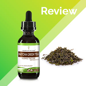 Matcha Green Tea Tincture Extract, Organic Green Tea, Matcha (Camellia sinensis) Dried Leaf - secretsofthetribe