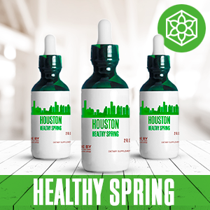 Houston Healthy Tincture, Herbal Extract Supplement for Optimal Human Health
