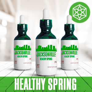 Jacksonville Healthy Tincture, Herbal Extract Supplement for Optimal Human Health