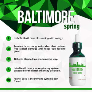 Baltimore Healthy Tincture, Herbal Extract Supplement for Optimal Human Health - secretsofthetribe