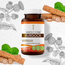 Load image into Gallery viewer, Burdock Capsules