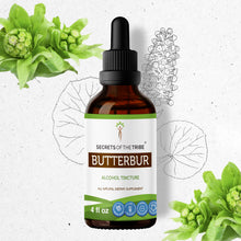 Load image into Gallery viewer, Butterbur Tincture Extract, Organic Butterbur (Petasites Hybridus) Dried Root - secretsofthetribe