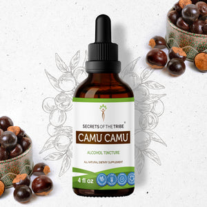 Camu Camu Tincture Extract, Organic (Myrciaria dubia) Dried Fruit - secretsofthetribe