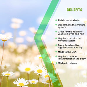 Chamomile Tincture Extract, Matricaria Recutita May Help Boost The Immune System - secretsofthetribe