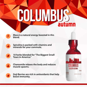 Columbus Healthy Tincture, Herbal Extract Supplement for Optimal Human Health - secretsofthetribe