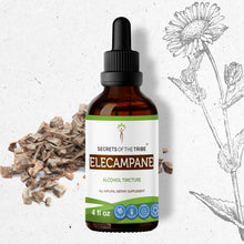 Load image into Gallery viewer, Elecampane Tincture Extract, Organic (Inula Helenium) Dried Root - secretsofthetribe