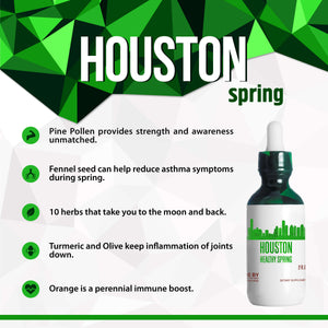 Houston Healthy Tincture, Herbal Extract Supplement for Optimal Human Health - secretsofthetribe