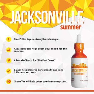 Jacksonville Healthy Tincture, Herbal Extract Supplement for Optimal Human Health - secretsofthetribe