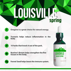 Louisville Healthy Tincture, Herbal Extract Supplement for Optimal Human Health - secretsofthetribe