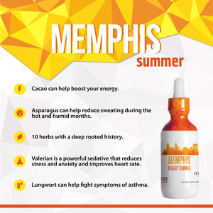 Memphis Healthy Tincture, Herbal Extract Supplement for Optimal Human Health - secretsofthetribe