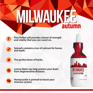 Milwaukee Healthy Tincture, Herbal Extract Supplement for Optimal Human Health - secretsofthetribe