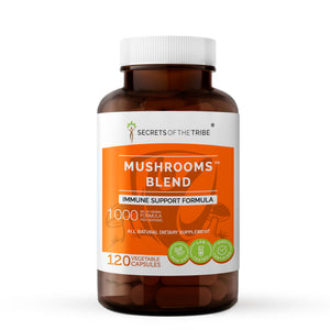 Mushrooms Blend Capsules. Immune Support Formula