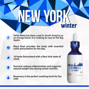 New York City Healthy Tincture, Herbal Extract Supplement for Optimal Human Health - secretsofthetribe