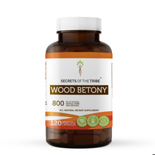 Load image into Gallery viewer, Wood Betony Capsules