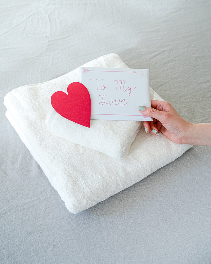 eco friendly towel gifts