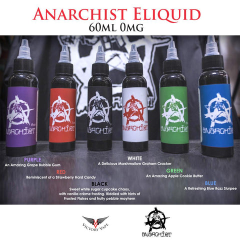 Anarchist E-Liquid Vape Ejuice
