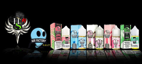 Air Factory Salts Vape Juice | Salt Factory by Air Factory