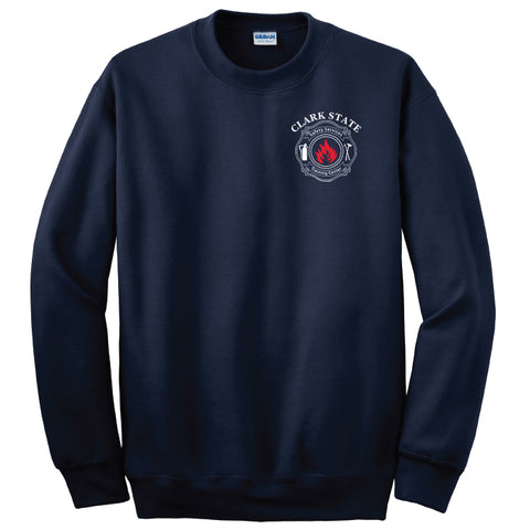 Clark State Safety Services Heavyweight Crewneck