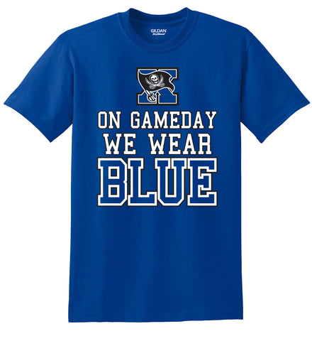 Xenia Bucs Gameday Blue