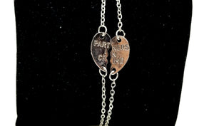 Partners In Crime Heart Charm Bracelet