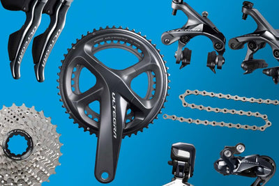 Upgrade Your Bicycle Componentry with Our Range of Shimano Groupsets