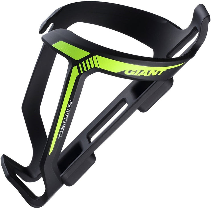 Giant High Flexible Bottle Cage (Yellow/Black)