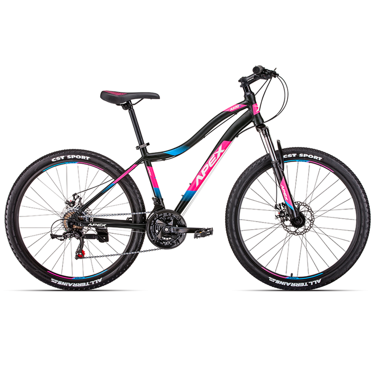 "Apex 2019 Alloy A600L 26"" (Black-Pink) XS"