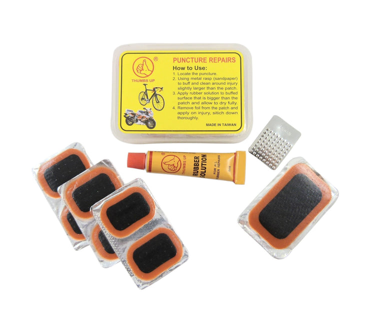 REPAIR PATCH KIT THUMBS UP7PCE BOXED