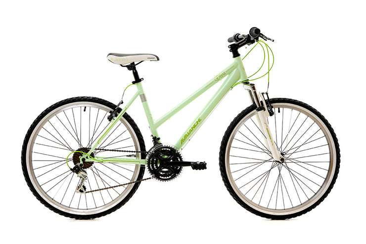 Avalanche 2019 Diva (Sparkle Green) Cruiser Bike