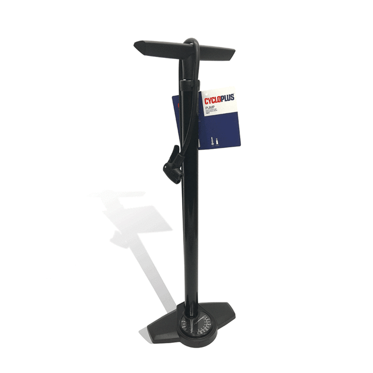 CycloPlus Steel Floor Pump