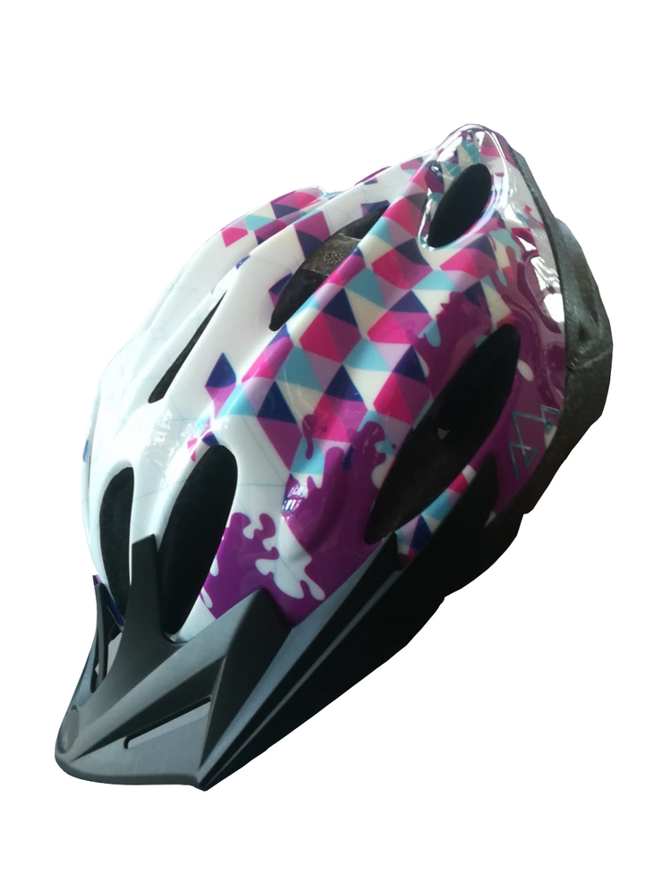 Axis Urban Helmet (White-Pink) M