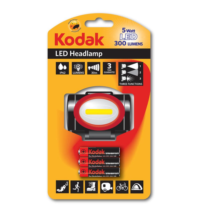 Kodak LED Headlight 300 Lumen