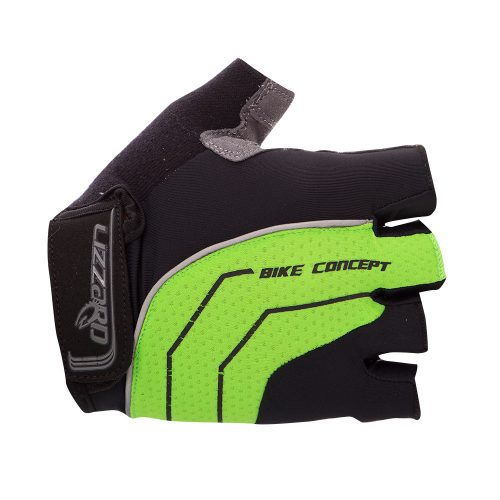 Lizzard Cartridge Short Finger Glove (Black/Lime)