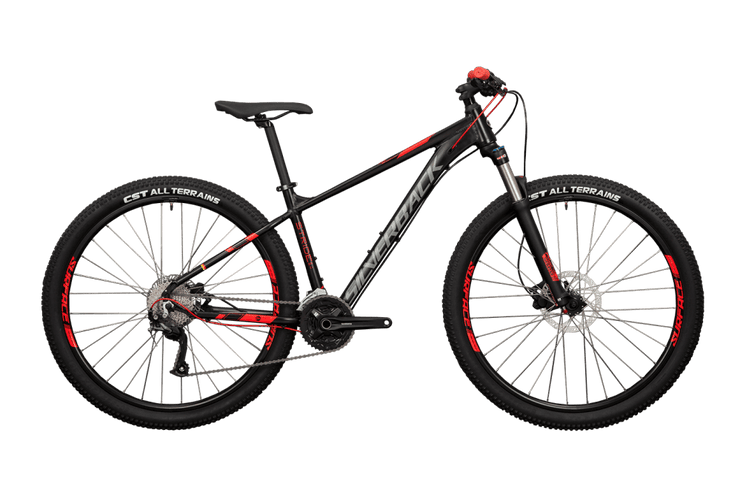 Silverback 2020 Stride 29 Elite SE (BLACK/RED/GREY) Mountain Bike