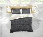3D Black Popsicle Stick Arch Quilt Cover Set Bedding Set Pillowcases 159