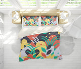 3D Colorful  Pattern Quilt Cover Set Bedding Set Pillowcases  55