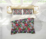 3D Bottle Cap Quilt Cover Set Bedding Set Pillowcases 100