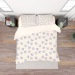 3D Purple Circle Pattern Quilt Cover Set Bedding Set Pillowcases 108
