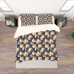 3D Black Triangle Circle Pattern Quilt Cover Set Bedding Set Pillowcases 84