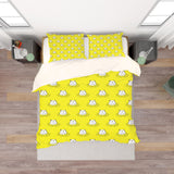 3D Yellow Hippopotamus Quilt Cover Set Bedding Set Pillowcases 87