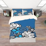 3D Colored Flowers Quilt Cover Set Bedding Set Pillowcases  30