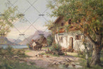 3D Countryside Oil Painting Wall Mural Wallpaper 13