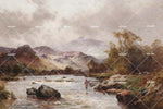 3D Mountain River Oil Painting Wall Mural Wallpaper 47