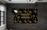 3D Nirvana Rock Band Black Non-Slip Rug Mat 26