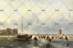 3D European Labor Oil Painting Wall Mural Wallpaper 8