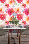3D Gorgeous Watercolor Floral Wall Mural Wallpaper 01