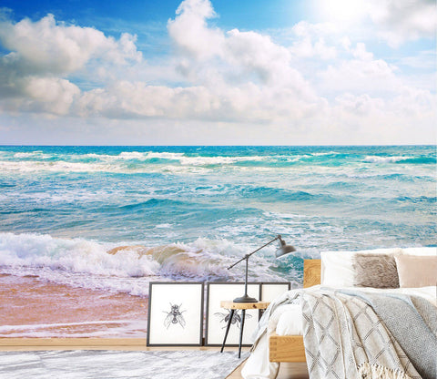 3D Beach Sunshine 147 Wall Murals