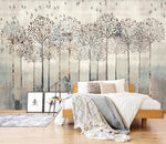 3D Long Tree Leaf 494 Wallpaper Jess Art Decoration 2