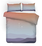 3D Watercolor Landscape Quilt Cover Set Bedding Set Pillowcases 245