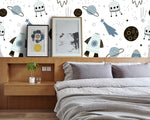 3D Rocket Wall Mural Wallpaper 11 - Jessartdecoration